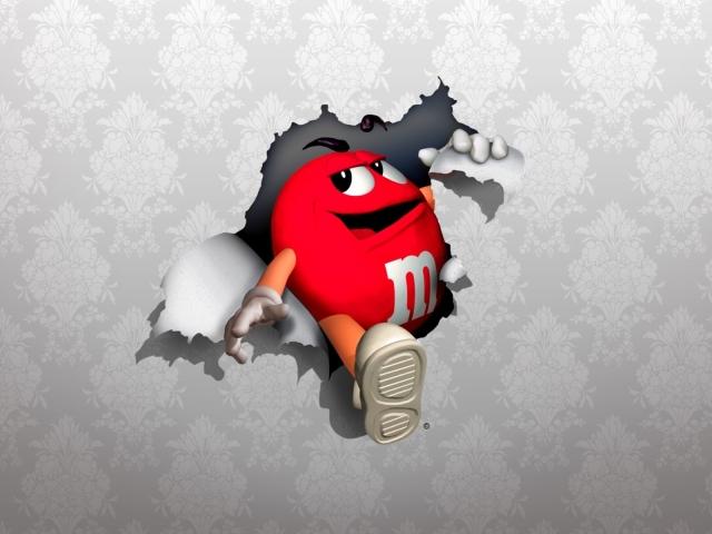 Red M 壁紙画像