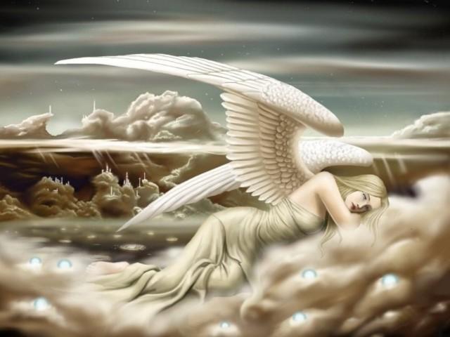 Resting Angel 壁紙画像