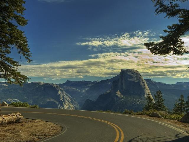 Road Bend 壁紙画像