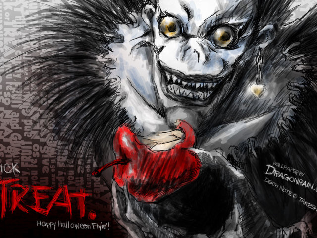 Ryuk Death Note 壁紙画像