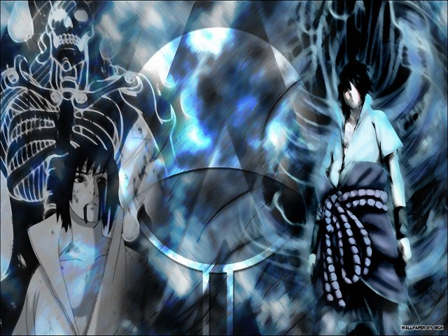 Sasuke And Susanoo 壁紙画像