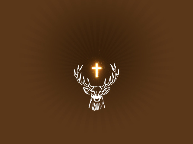 Stag Religious 壁紙画像