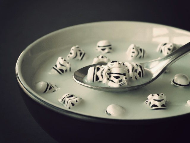 Storm Trooper Humor 壁紙画像