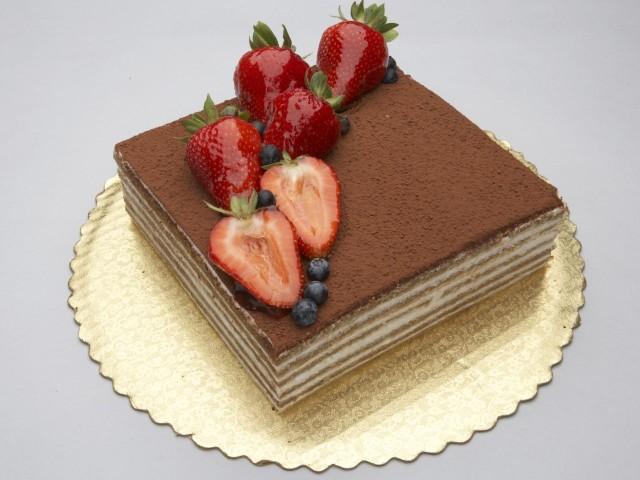 Strawberry Chocolate Delight 壁紙画像