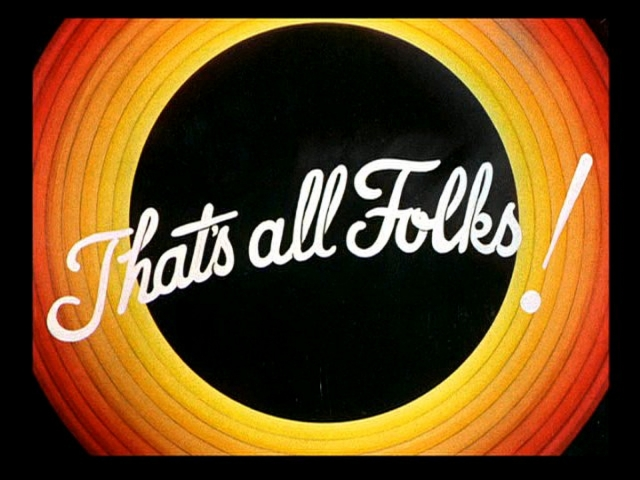 That's All Folks Logo 壁紙画像