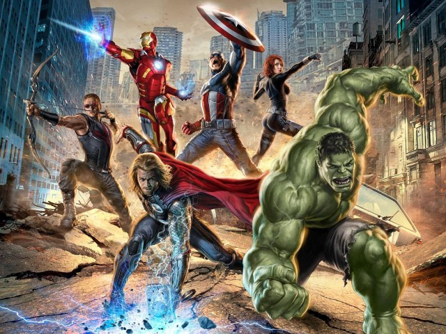 The Avengers 壁紙画像