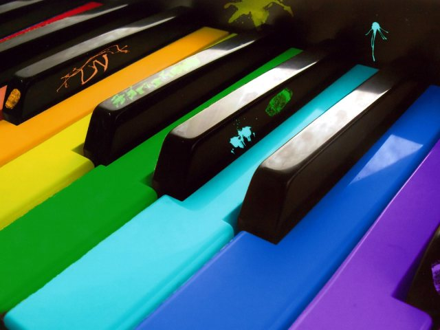The Colors Of Music 壁紙画像