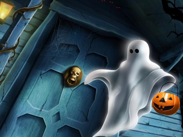The Halloween House 壁紙画像