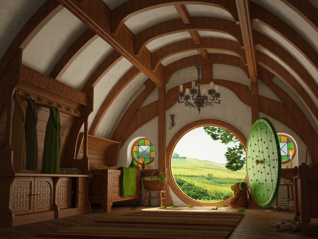 The Hobbit House 壁紙画像