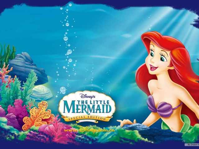 The Little Mermaid 壁紙画像