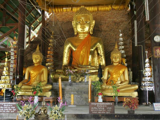 Three Buddhas 壁紙画像