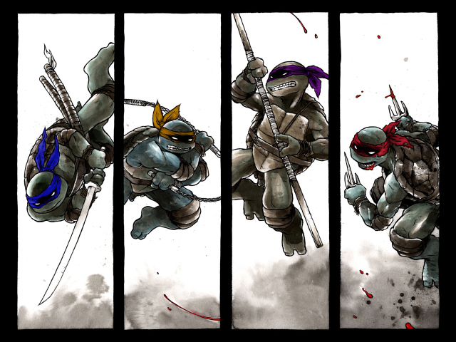 Tmnt In Action 壁紙画像