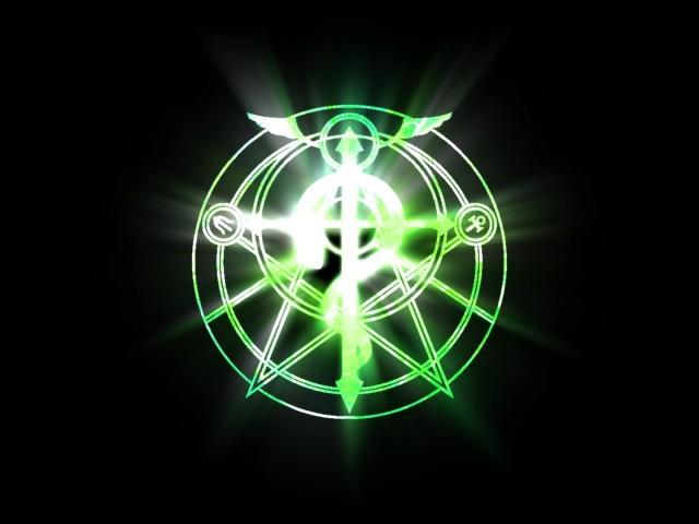 Transmutation Circle 壁紙画像