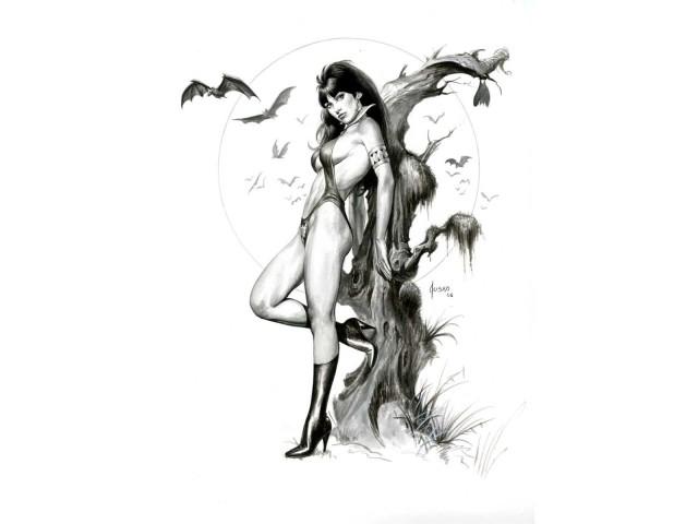 Vampirella 壁紙画像