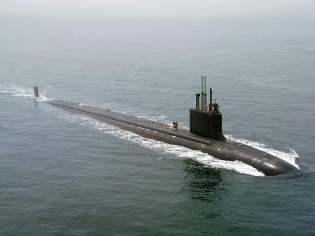 Virginia Class Submarine 壁紙画像