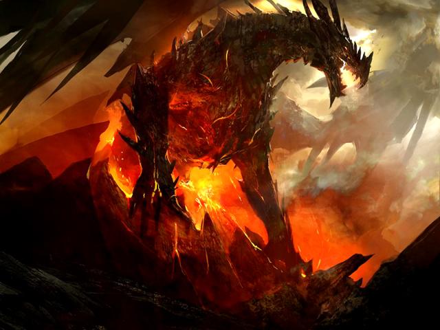 Volcanic Dragon 壁紙画像