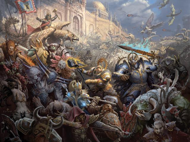 Warhammer 壁紙画像