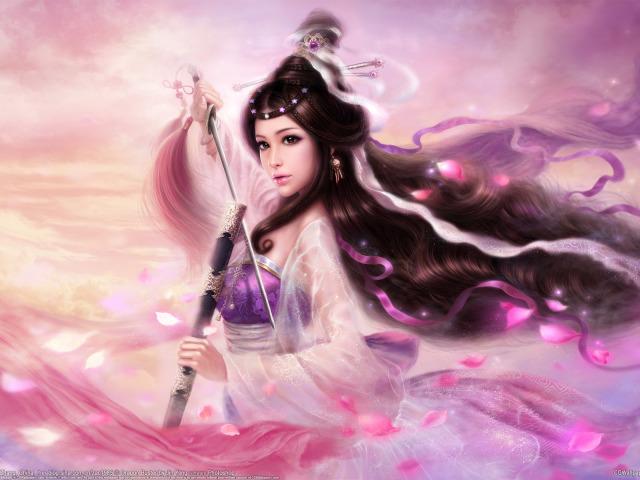Warrior Princess 壁紙画像