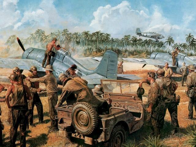Wildcats At Guadalcanal 壁紙画像