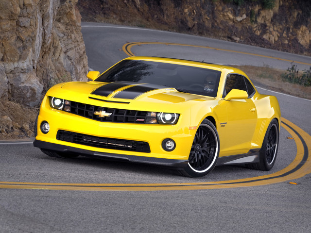 Yellow Camaro 壁紙画像