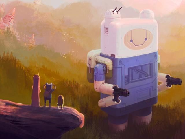 Adventure Time 壁紙画像