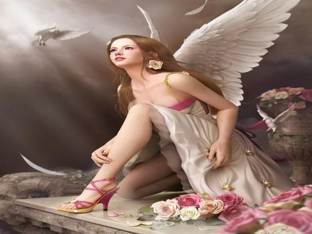 Angel 壁紙画像