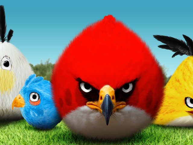 Angry Birds 壁紙画像