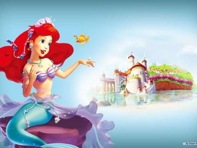 Ariel Singing 壁紙画像