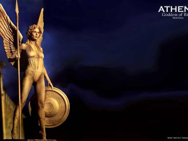 Athena Goddess Of Battle 壁紙画像