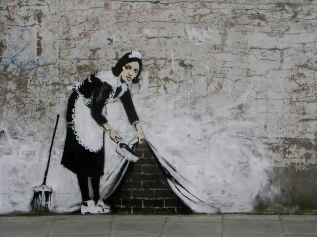 Banksy Artistic 壁紙画像