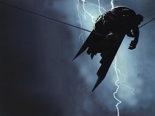 Batman On A Wire 壁紙画像