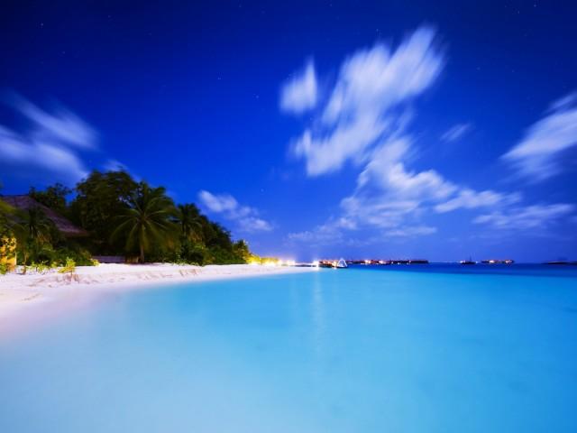 Beach Earth 壁紙画像