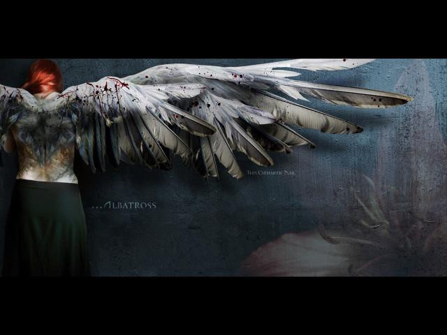 Bloodied Angel 壁紙画像