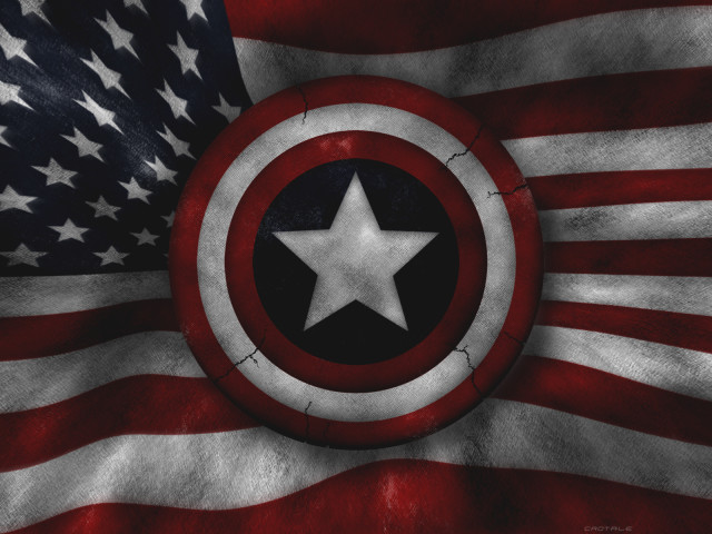 Captain America's Shield 壁紙画像