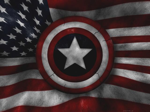 Captain America's Shield 壁紙画像