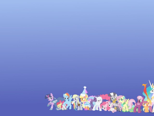 Cast Of My Little Pony 壁紙画像