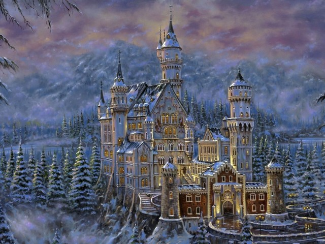 Castle 壁紙画像