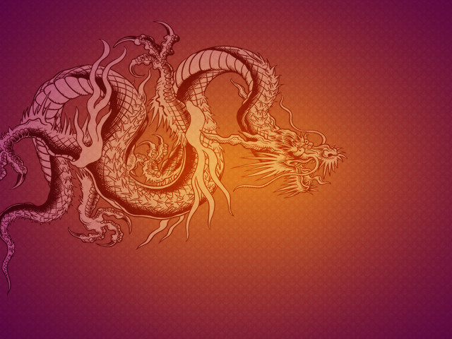 Chinese Dragon 壁紙画像