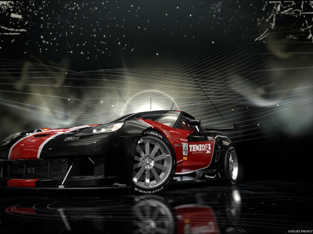 Corvette Z06 壁紙画像