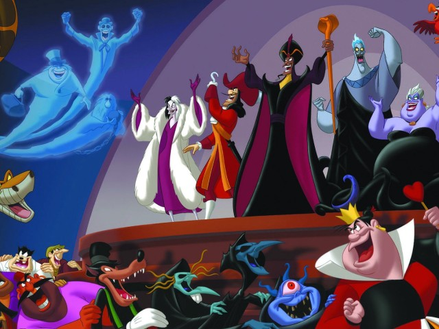 Disney Villains 壁紙画像