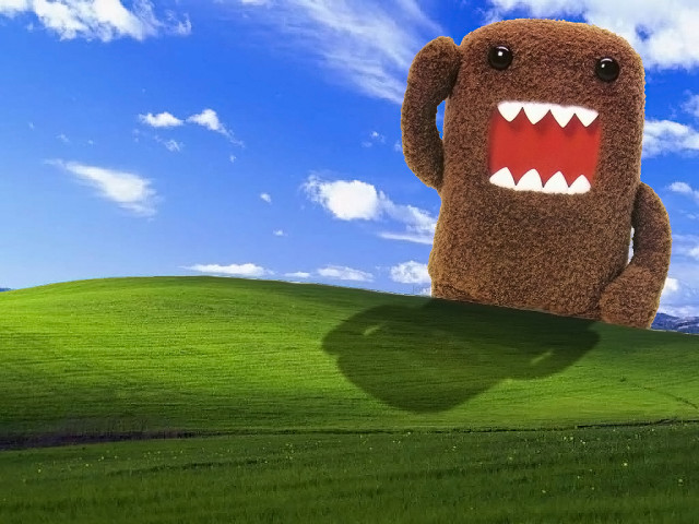 Domo Kun Attacking! 壁紙画像