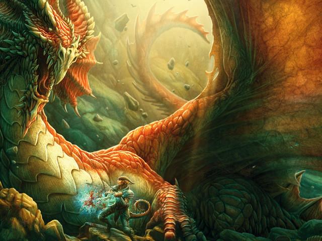 Dragon Fantasy 壁紙画像