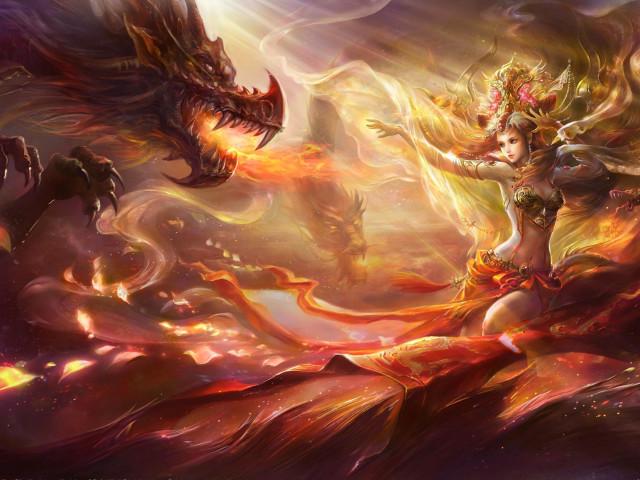 Dragon 壁紙画像
