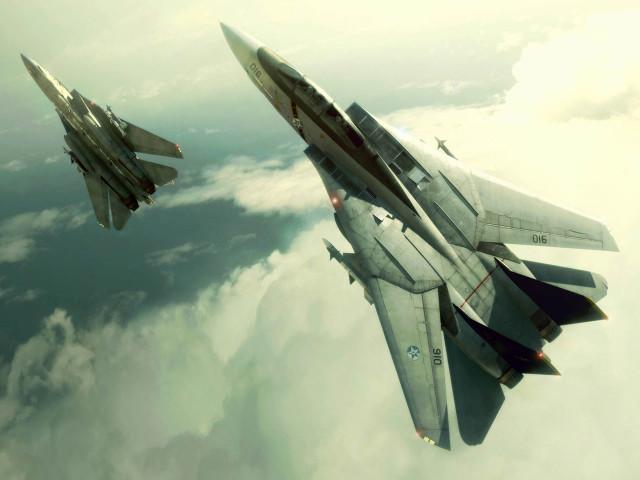 F 14 Military 壁紙画像