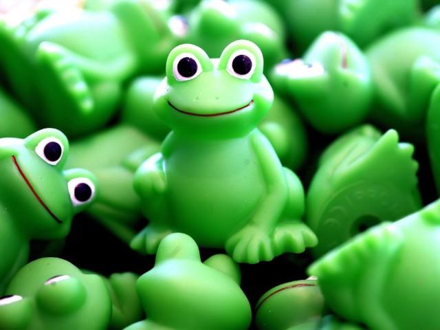 Froggy Toys 壁紙画像