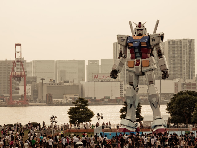 Full Sized Gundam Robot 壁紙画像