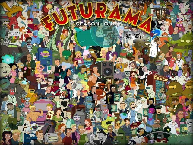 Futurama Season One 壁紙画像
