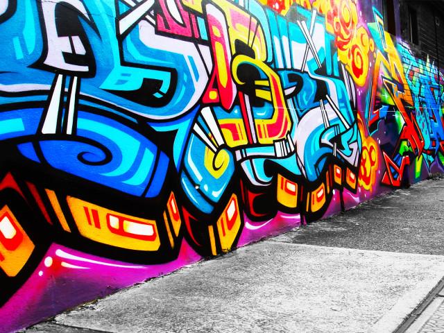 Graffiti 壁紙画像