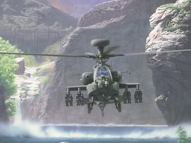 Helicopter 壁紙画像