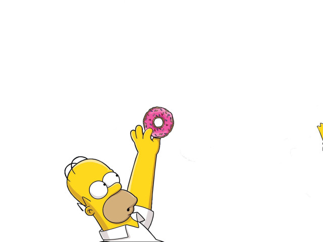 Homer And Bart 壁紙画像